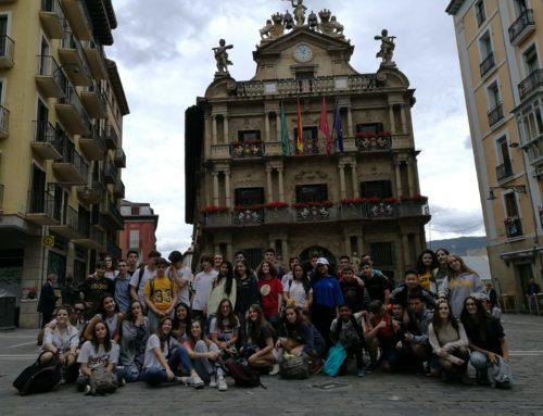 3º de ESO-Excursión fin de curso a Pamplona. Se unen alumnos de 4º