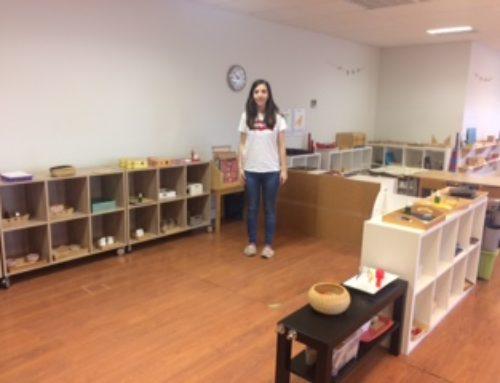 Erasmus -María Dominguez, alumna de 2º del Ciclo Superior de Educación Infantil-