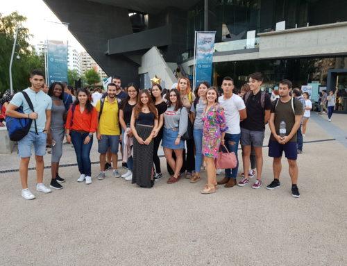 2º de marketing en Wanderlust – La noche de los investigadores en Zaragoza