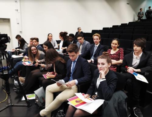 En la Vanguardia – debate del Modelo de Parlamento Europeo