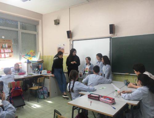 """2ª Sesión del Proyecto """"Mercado de cooperativas escolares"""" con Primaria y Marketing"""