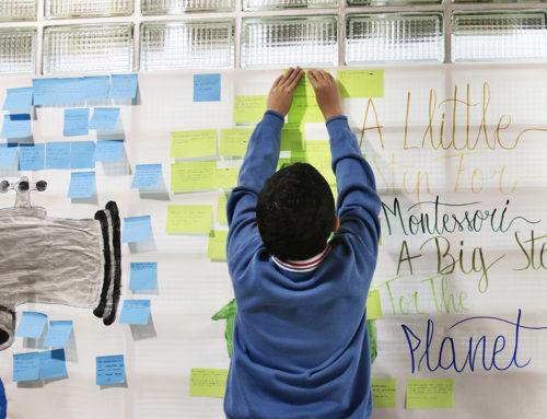 """""""Un pequeño paso para Montessori, un gran paso para el planeta"""""""