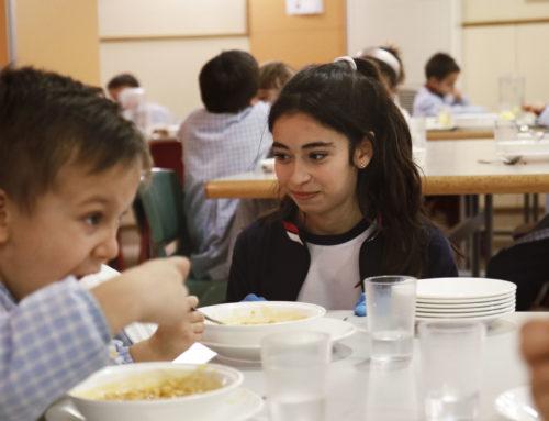 Proyecto Más: Voluntariado en el comedor del colegio
