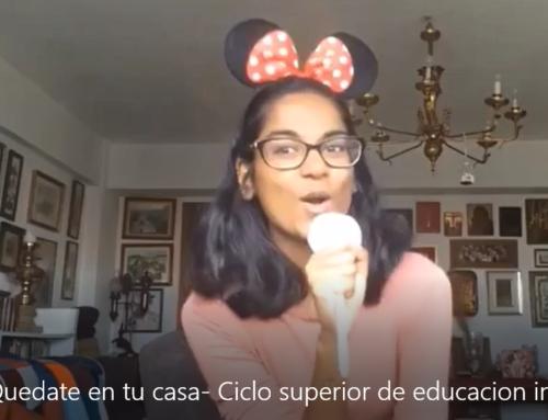 Vídeo realizado por el alumnado de 2º del Ciclo Superior de Educación Infantil -Ánimo durante el confinamiento-