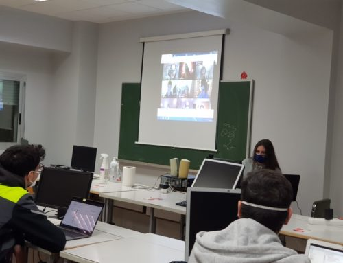 Clases invertidas por la pandemia en los ciclos formativos del Colegio Montessori, gracias a la metodología online.