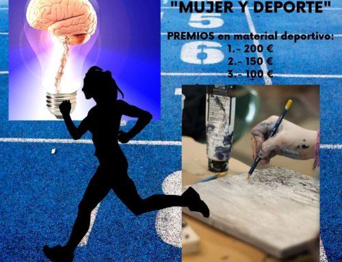 """Concurso de diseño para la selección del logotipo """"Mujer y Deporte"""" a utilizar por la Dirección General de Deporte."""