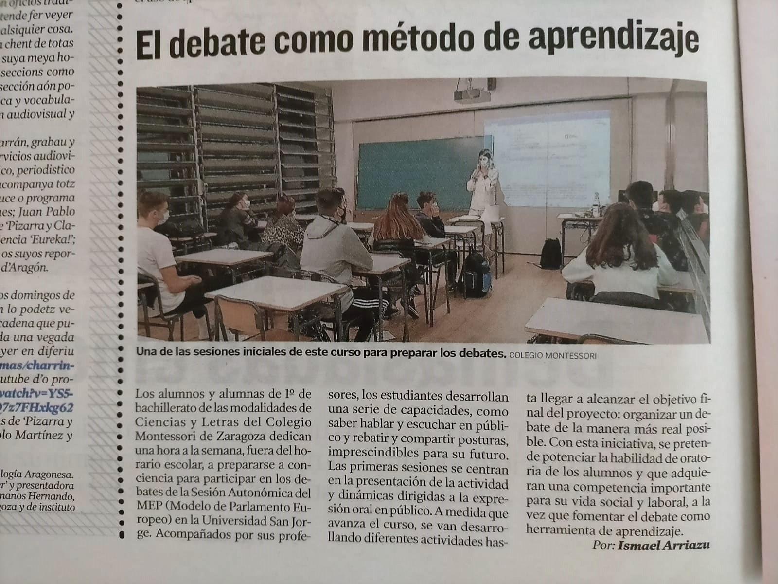 Debates Montessori