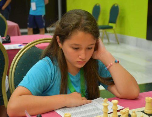 La ajedrecista Nayeli María Ramos Redondo